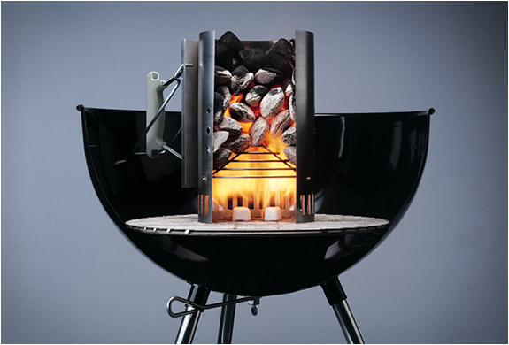 RAPIDFIRE CHIMNEY STARTER | BY WEBER | Image