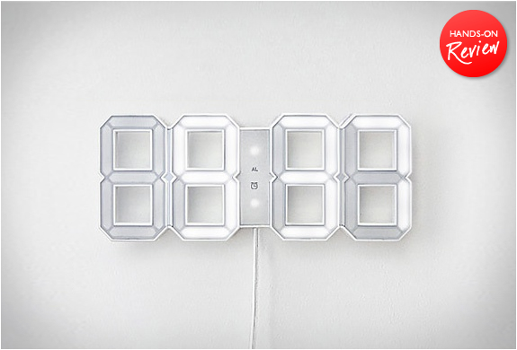 WHITE & WHITE LED CLOCK | HANDS-ON REVIEW | Image
