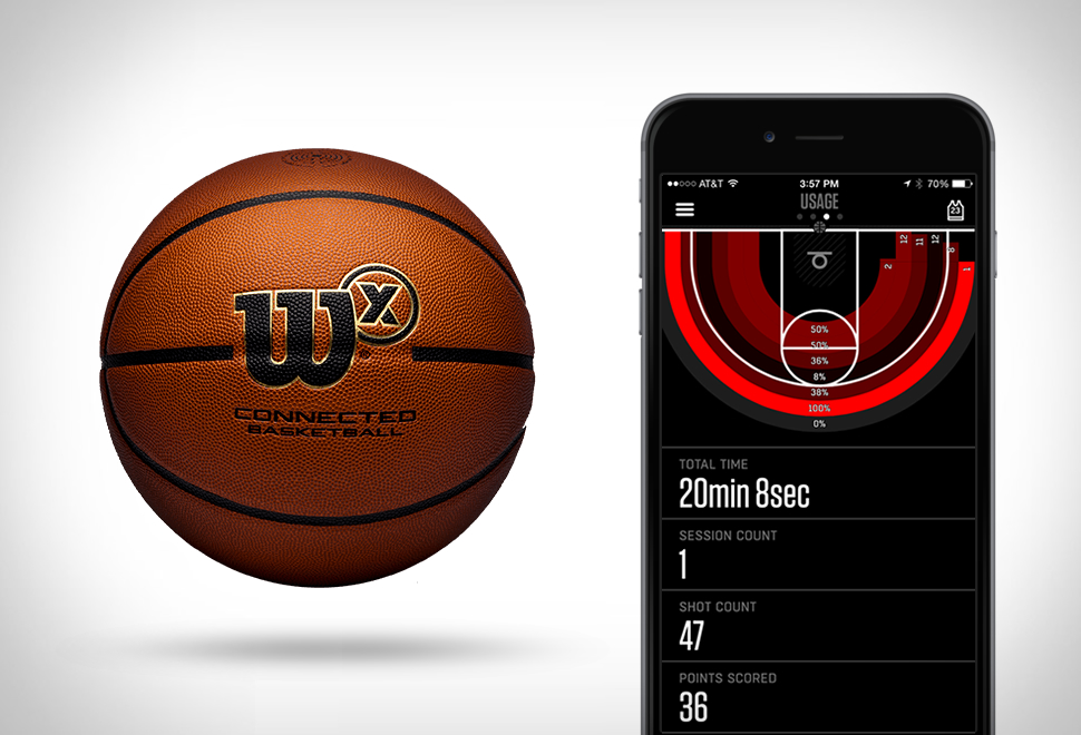 WILSON X CONNECTED BASKETBALL | Image