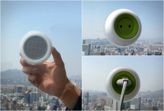 SOLAR POWERED WINDOW SOCKET | Image