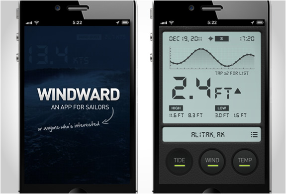 WINDWARD | IPHONE APP FOR SAILORS | Image