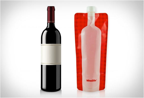 Wine2go | The Foldable Wine Bottle | Image