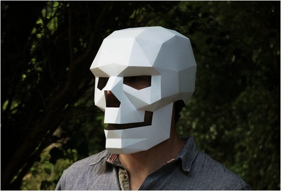 Downloadable 3d Masks | By Wintercroft | Image