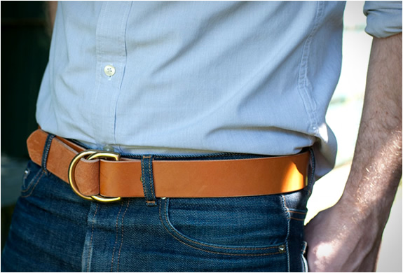 D-ring Belt | By Wood & Faulk | Image