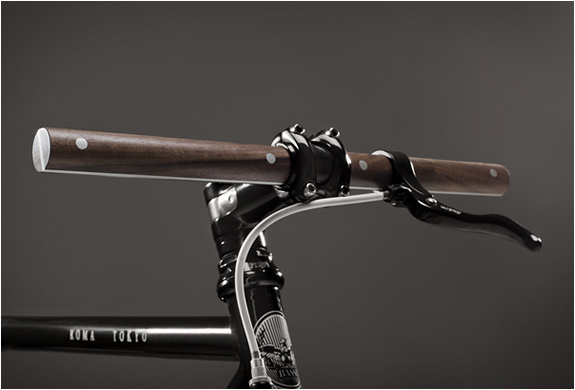 WOODEN BIKE HANDLEBARS | BY F&Y | Image