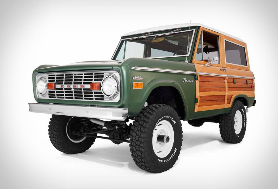 WOODY FORD BRONCO | Image