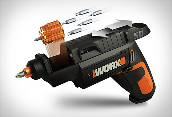 WORX SEMI-AUTOMATIC POWER SCREW DRIVER | Image