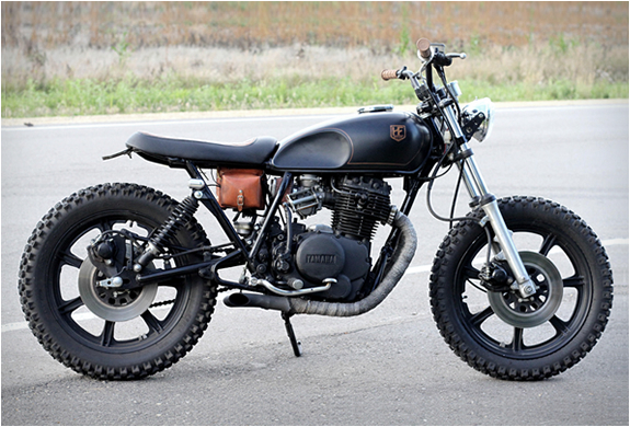 yamaha xs400 by hold fast motors. Black Bedroom Furniture Sets. Home Design Ideas