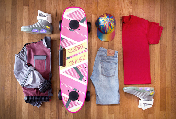BACK TO THE FUTURE GIVEAWAY | BY ZBOARD | Image