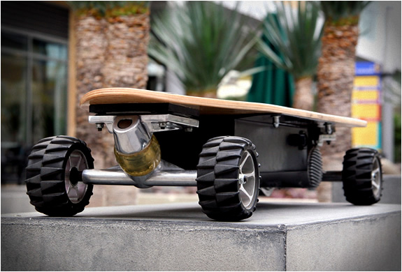 Zboard | Weight-sensing Electric Skateboard | Image