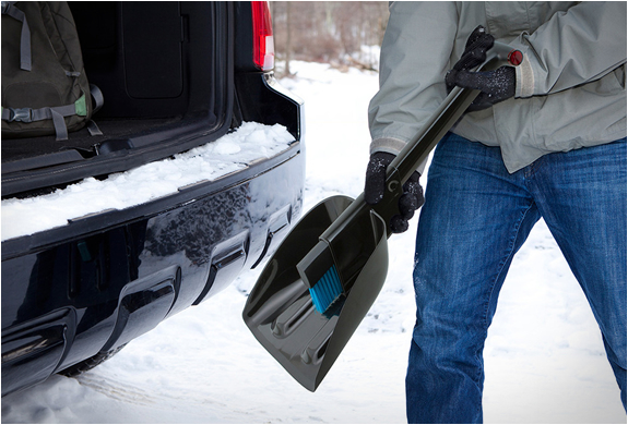 Image result for small shovel for car