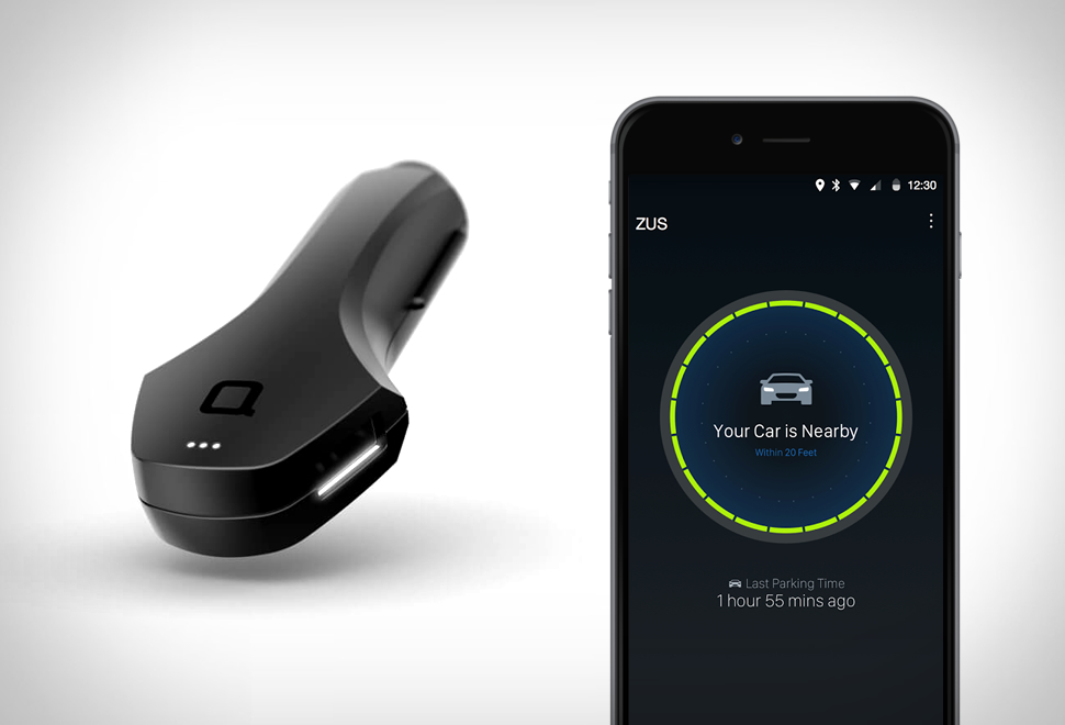 Zus Car Charger & Locator | Image